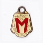 1983 Maitland Leagues Club Member Badge