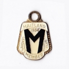 1984 Maitland Leagues Club Member Badge