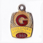 1969 Guildford Leagues Club Member Badge