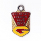 1970 Guildford Leagues Club Member Badge