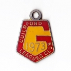 1973 Guildford Leagues Club Member Badge