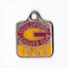 1984 Guildford Leagues Club Member Badge