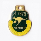 1979 Newcastle Leagues Club Member Badge