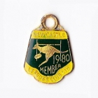 1980 Newcastle Leagues Club Member Badge