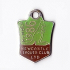 1986 Newcastle Leagues Club Member Badge