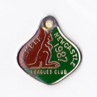 1987 Newcastle Leagues Club Member Badge
