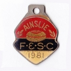 1981 Ainslie Football and Social Club Member Badge