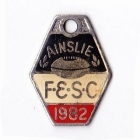 1982 Ainslie Football and Social Club Member Badge