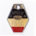 1988 Ainslie Football and Social Club Member Badge