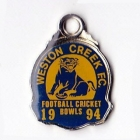 1994 Weston Creek Football Club Member Badge