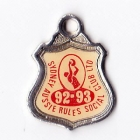 1992-93 Sydney Aussie Rules Social Club Member Badge