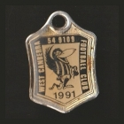 1991 West Canberra Football Club Member Badge