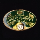 1983 North Albury AFL Football Club Member Pin Badge