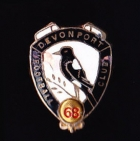1968 Devonport AFL Football Club Member Pin Badge