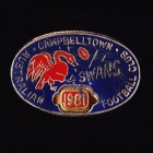 1981 Campbelltown Swans AFL Football Club Member Pin Badge