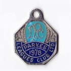 1978 Parkes Leagues Club Member Badge