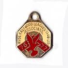 1976-77 Ryde Eastwood Leagues Club Associate Member Badge