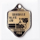 1988 Tweed Heads Rugby League Football Club Member Badge