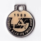 1989 Tweed Heads Rugby League Football Club Member Badge