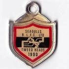 1990 Tweed Heads Rugby League Football Club Member Badge