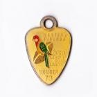 1973 Western Suburbs Newcastle Leagues Club Member Badge