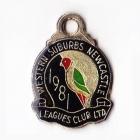 1981 Western Suburbs Newcastle Leagues Club Member Badge