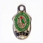 1984 Western Suburbs Newcastle Leagues Club Member Badge