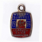 1969 Western Suburbs Illawarra Leagues Club Member Badge