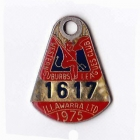 1975 Western Suburbs Illawarra Leagues Club Member Badge