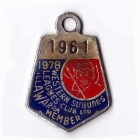 1978 Western Suburbs Illawarra Leagues Club Member Badge