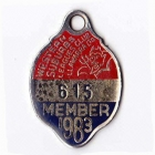 1983 Western Suburbs Illawarra Leagues Club Member Badge