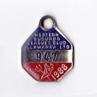 1988 Western Suburbs Illawarra Leagues Club Member Badge