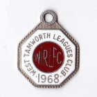 1968 West Tamworth Rugby League Club Member Badge