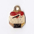 1975 West Tamworth Rugby League Club Member Badge