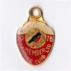 1978 West Tamworth Rugby League Club Member Badge