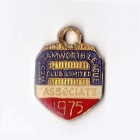 1975 West Tamworth Rugby League Club Associate Member Badge