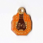1977 West Tamworth Rugby League Club Associate Member Badge