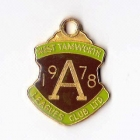 1978 West Tamworth Rugby League Club Associate Member Badge