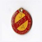 1973 West Tamworth Rugby League Club Junior Associate Member Badge