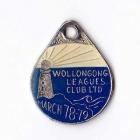 1978-79 Wollongong Leagues Club Associate Member Badge
