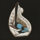 1956 Gould League of Bird Lovers NSW Member Badge Pin