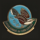 1962 Gould League of Bird Lovers NSW Member Badge Pin