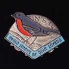 1954 Gould League of Bird Lovers NSW Member Badge Pin
