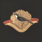 1945 Gould League of Bird Lovers NSW Member Badge Pin s