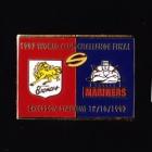 1997 WCC Super League Broncos v Mariners Pin Badge