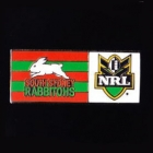 2010 South Sydney Rabbitohs NRL Home Pin Badge