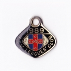 1989 NSW Leagues Club Member Badge