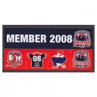 2008 Sydney Roosters NRL Member Stickers