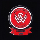 2012 Western Sydney Wanderers Founded 2012 A-League Pin Badge