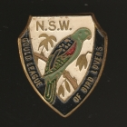 1961 Gould League of Bird Lovers NSW Member Badge Pin